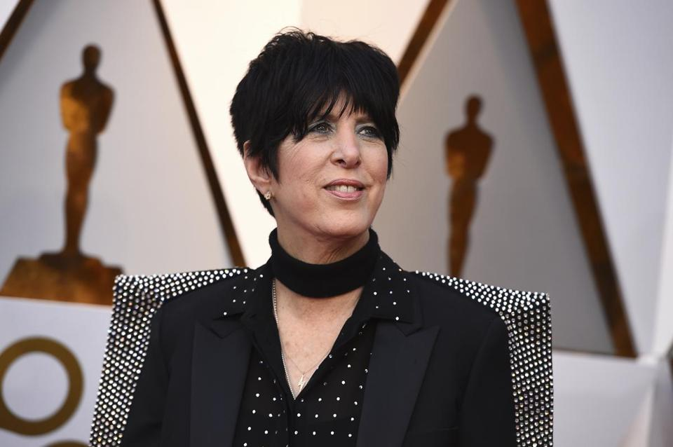 Diane Warren arrives at the Oscars on Sunday, March 4, 2018, at the Dolby Theatre in Los Angeles. (Photo by Jordan Strauss/Invision/AP)