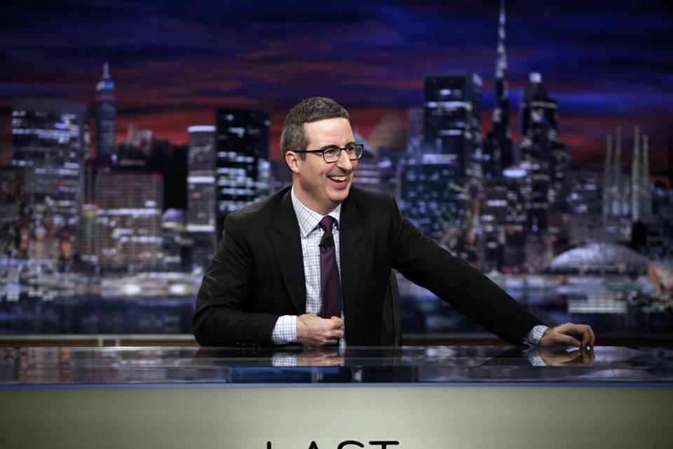 john oliver takes on vice president mike pence and his. Black Bedroom Furniture Sets. Home Design Ideas