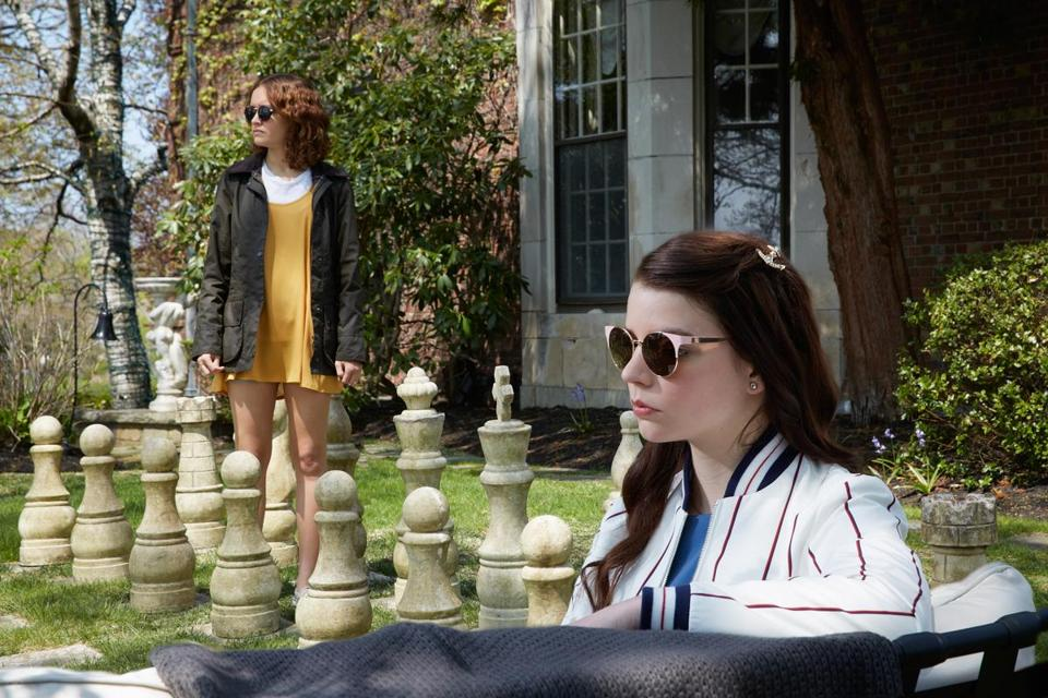 "Olivia Cooke and Anya Taylor-Joy star in ""Thoroughbreds,"""