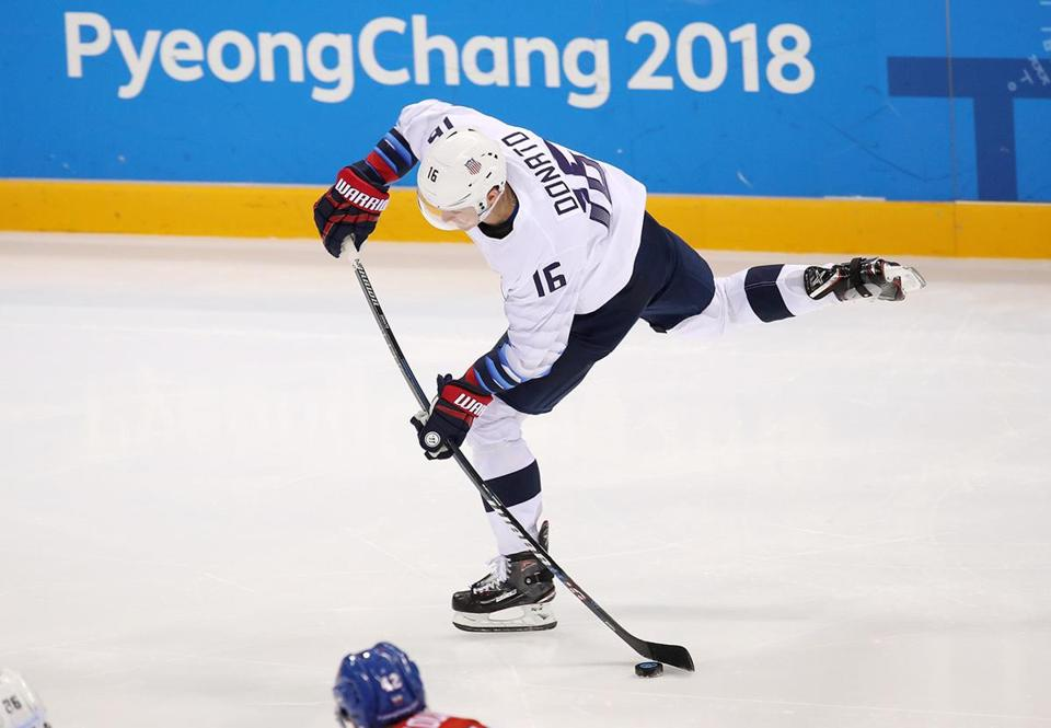 Donato was a breakout star for the US in the Olympics.