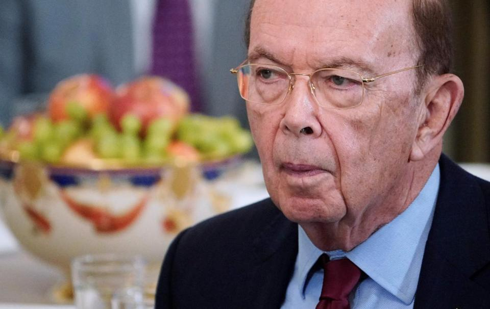 US Secretary of Commerce Wilbur Ross (above) will speak with European Union representatives about eliminating their tariffs, according to a tweet by President Trump.