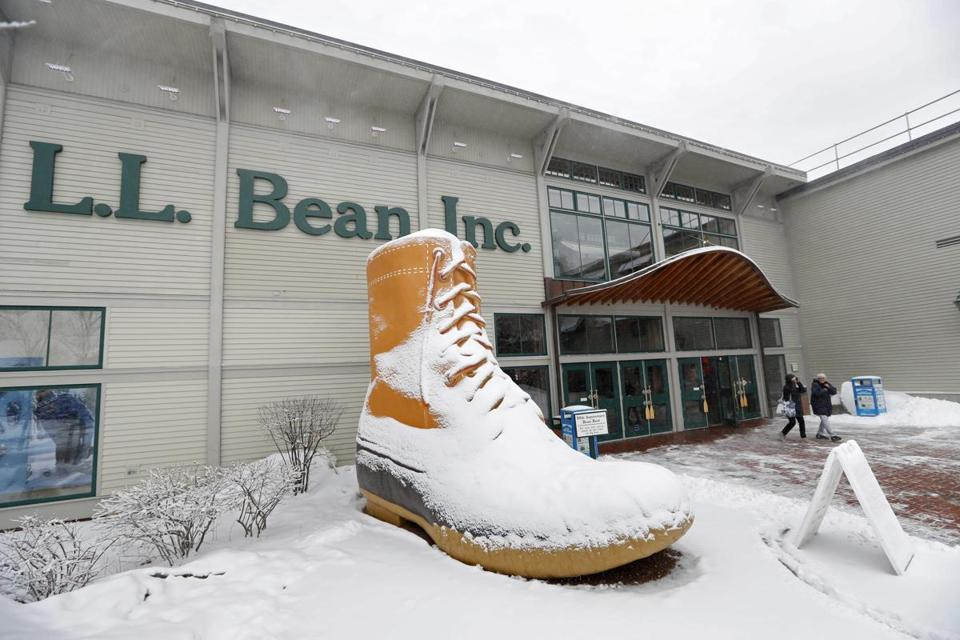 The L.L. Bean retail store in Freeport, Maine.