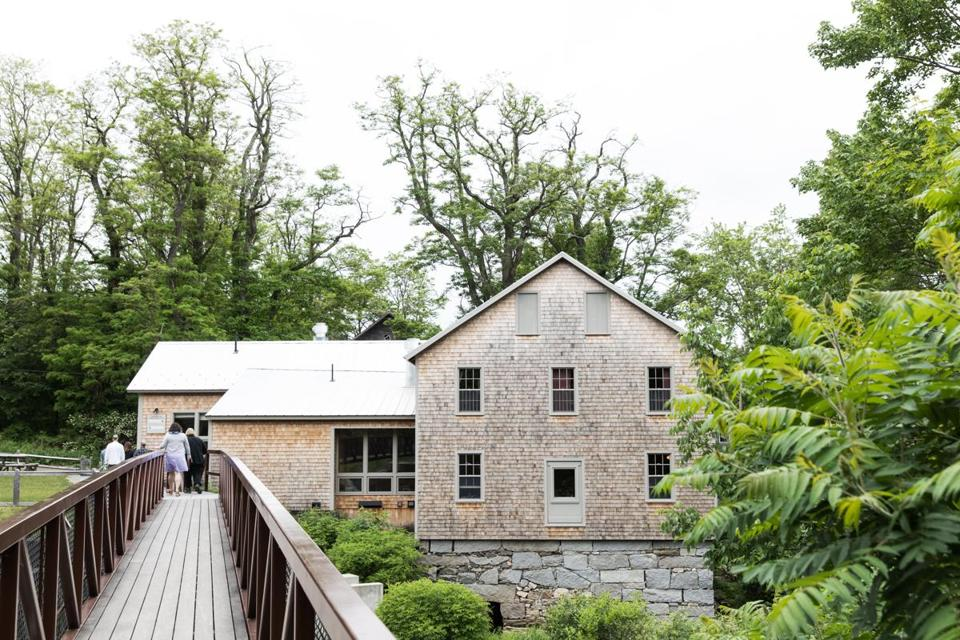 The Lost Kitchen is built in a former gristmill.