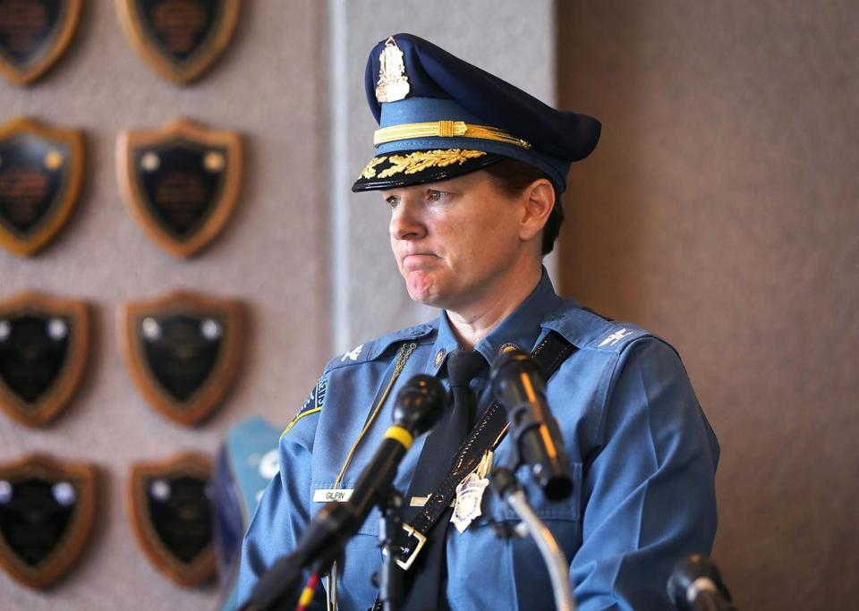 Colonel Kerry Gilpin, now head of State Police, had written at least three inspection reports that flagged some troopers for remarkable overtime hours but didn't probe further.
