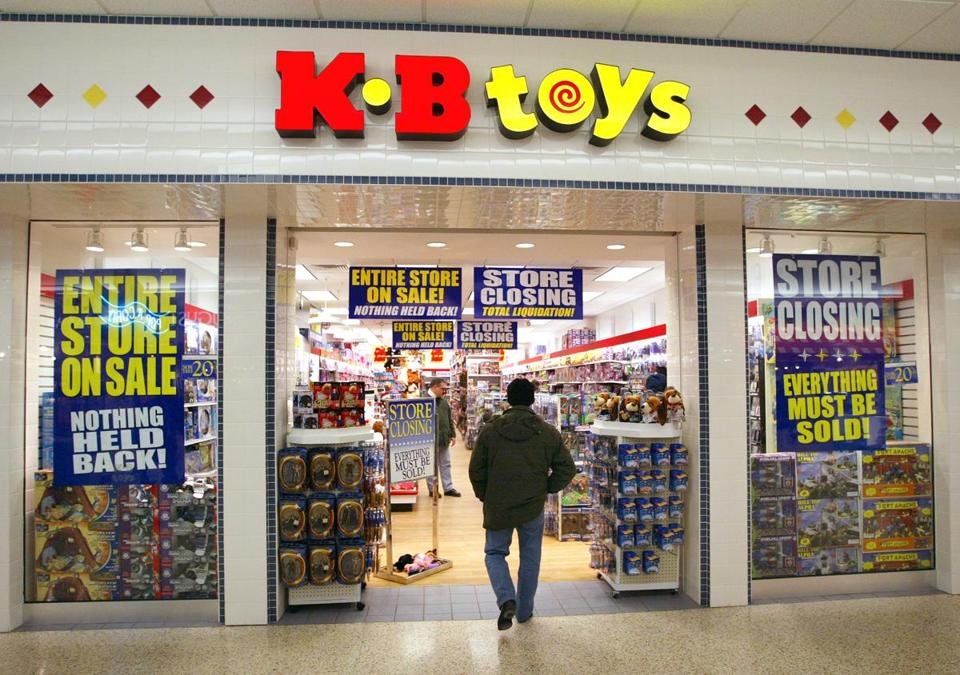 A Shopper Entered One Of The Old Mall KB Toys Stores In Norridge Ill