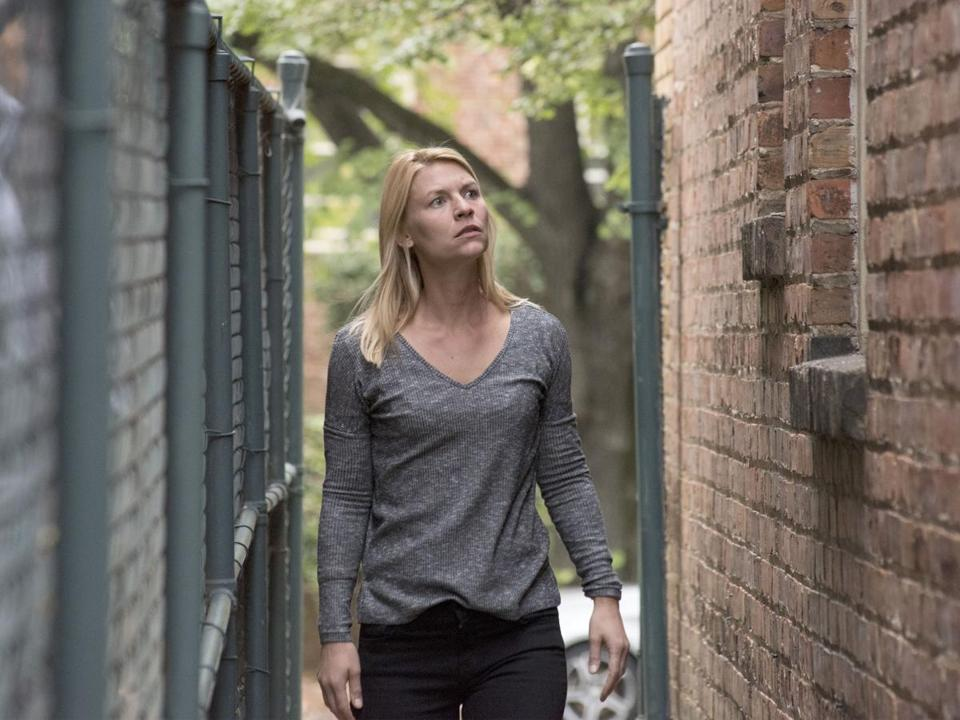 Claire Danes As Carrie Mathison In Season 7 Of Homeland