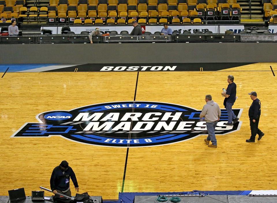 boston ma 3212018 ncca tournament - Td Garden