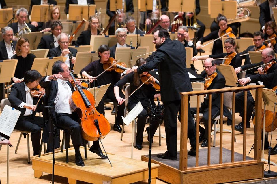 "Andris Nelsons leads Yo-Yo Ma and the BSO in Strauss's ""Don Quixote."""