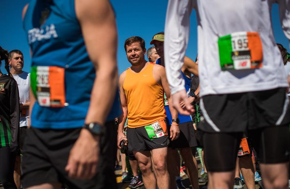 Conrad Roy Jr. ran the Ireland 5k in New Bedford March 31 as he prepared
