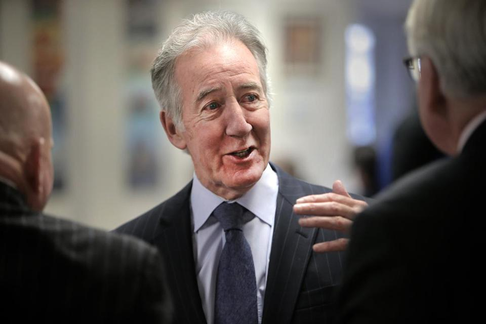Boston, MA - 1/24/18 - Rep. Richard Neal spoke to Teamsters in South Boston about efforts to save pensions. (Lane Turner/Globe Staff) Reporter: (Rob Weissman) Topic: (25pensionloss)