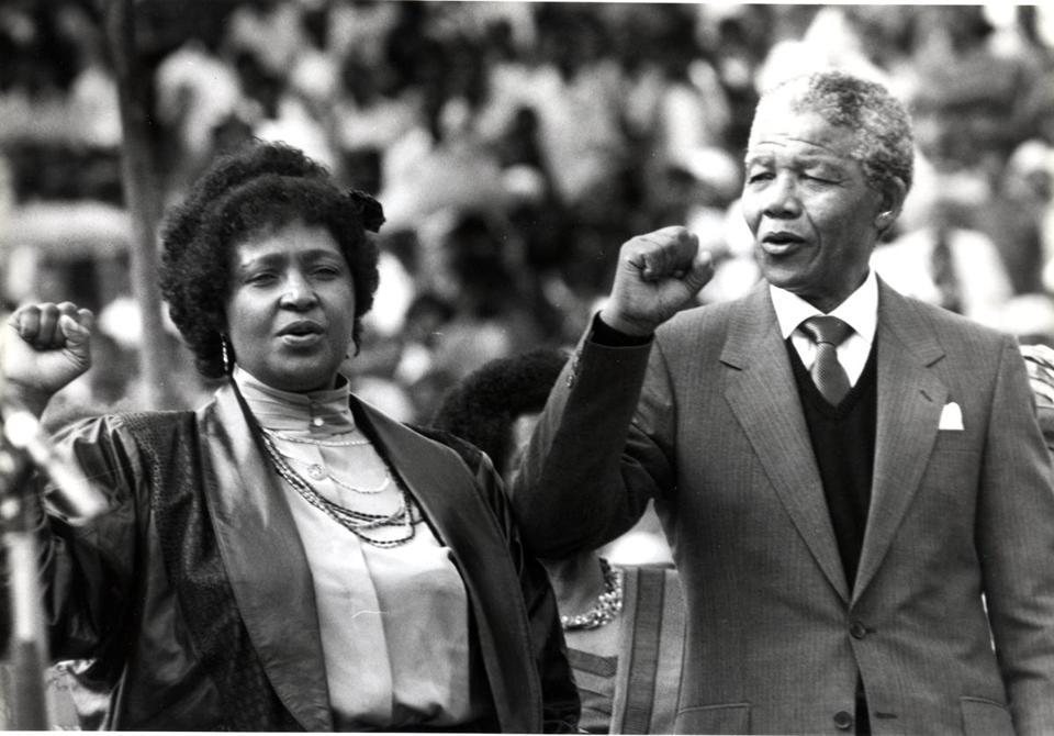 Ms. Madikizela-Mandela derived status from the struggle she shared with Nelson Mandela.