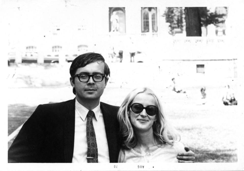 A picture of Anya Yurchyshyn's parents from her memoir