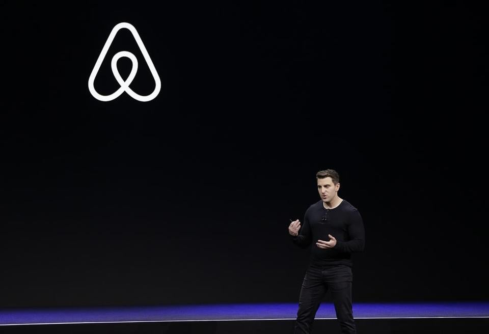 Airbnb chief executive Brian Chesky during an event in San Francisco earlier this year.