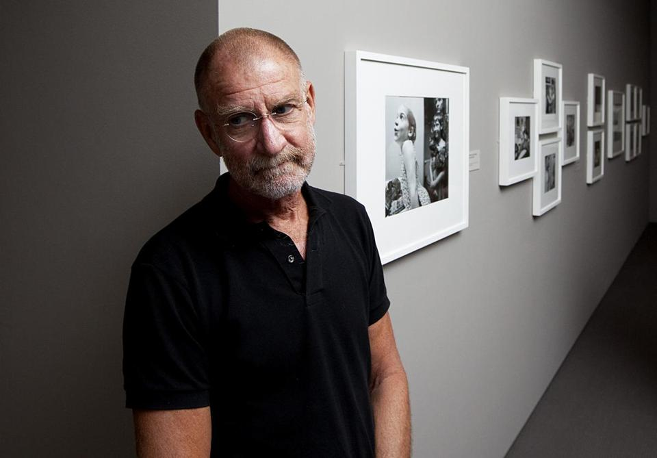 Nicholas Nixon was photographed at his exhibit at the Museum of Fine Arts in 2010.
