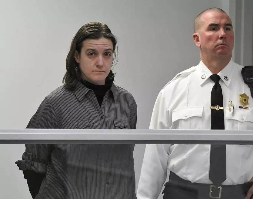Sonja Farak was arraigned at Eastern Hampshire District Court in Belchertown in 2013.