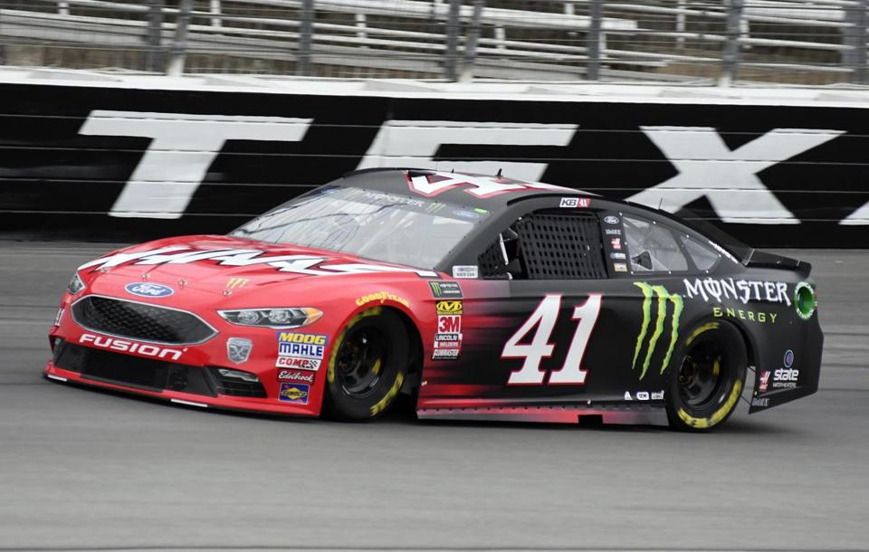 Kurt Busch Comes Out Of Turn 4 During A Practice Session For A NASCAR Cup  Series