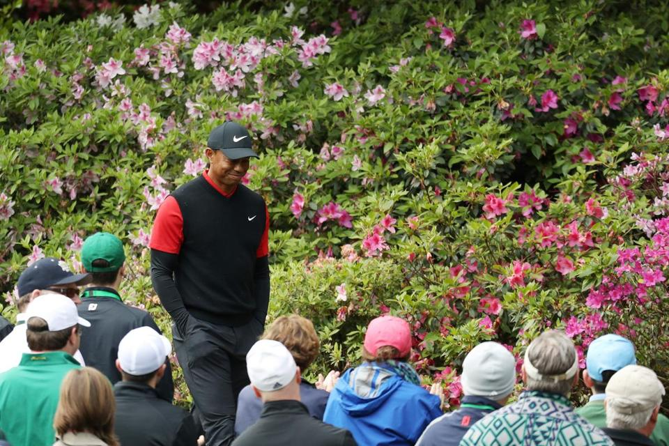 tiger woods finds form in final round