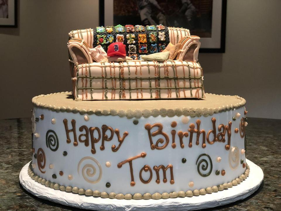 For Tom Werners Birthday This Topper Takes The Cake The Boston Globe