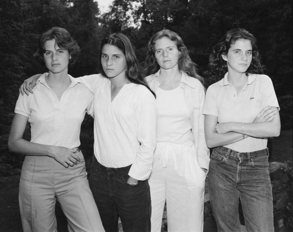 """The Brown Sisters, New Canaan, Connecticut,"" 1975, by Nicholas Nixon, is on view at the Institute of Contemporary Art."