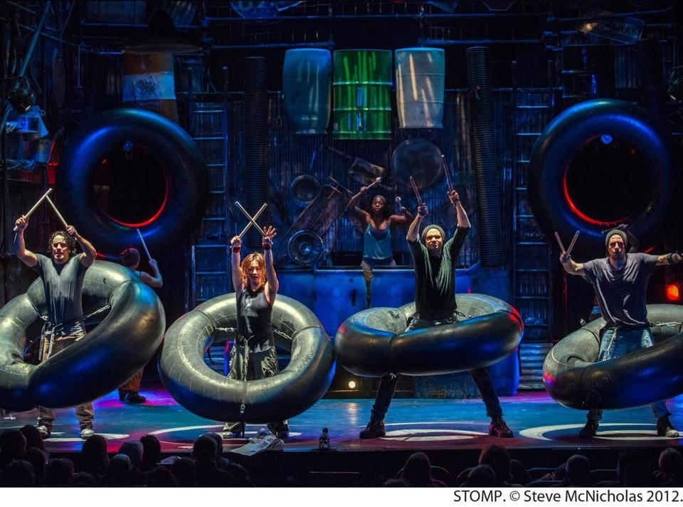 """STOMP"" is coming to the Boch Center Shubert Theatre."