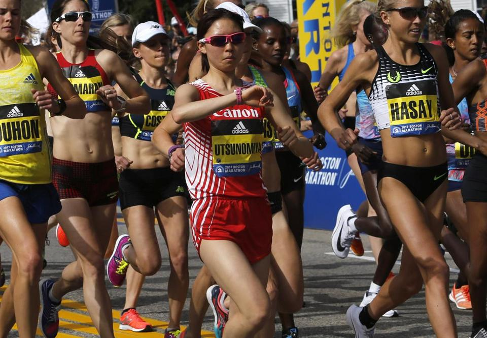 ced2047cfcb8a Flood of technology has Boston Marathon runners deluged with data ...