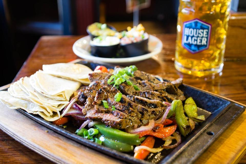 Get two-for-one fajitas at Olde Magoun's Saloon on Saturday.
