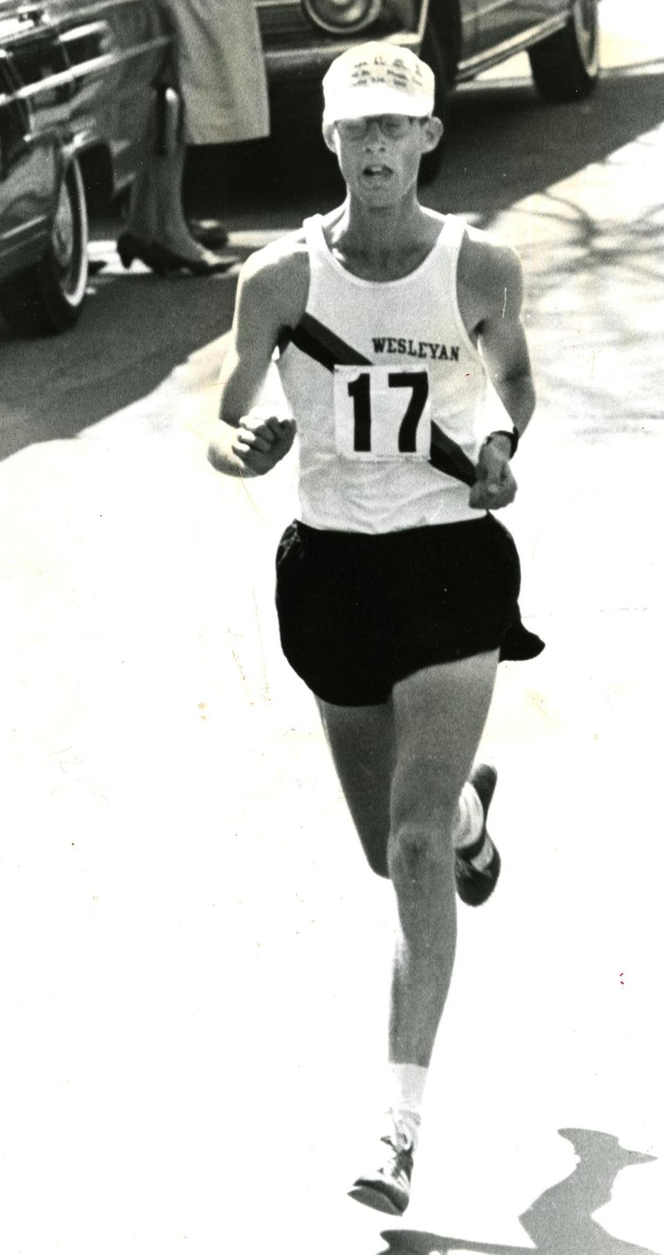 Amby Burfoot finished the 1968 race in 2:22:17.