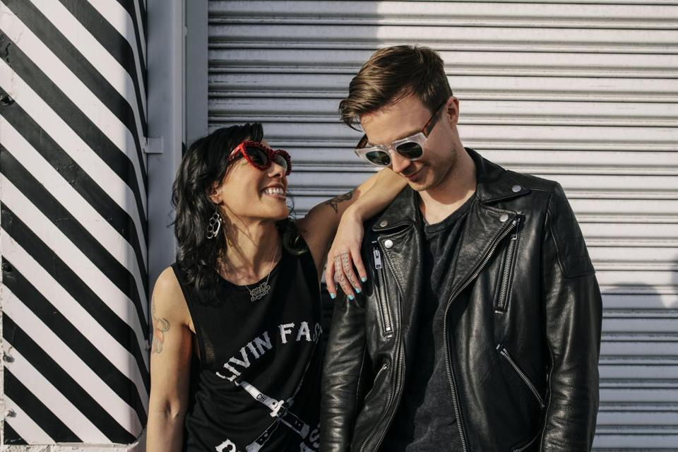 Kim Schifino and Matt Johnson of Matt and Kim.