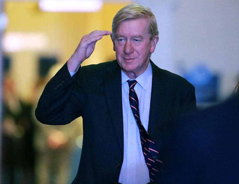 "Former Governor William F. Weld, once the US attorney for Massachusetts, says addiction to drugs should be ""treated as a national public health emergency."""