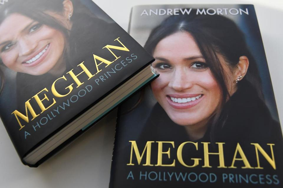 "Andrew Morton's ""Meghan, A Hollywood Princess"" is filled with fun facts about actress Meghan Markle, who weds Prince Harry this weekend."