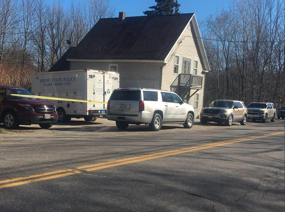 The Litchfield, Maine, home where the alleged killing of Kimberly Mironovas took place.
