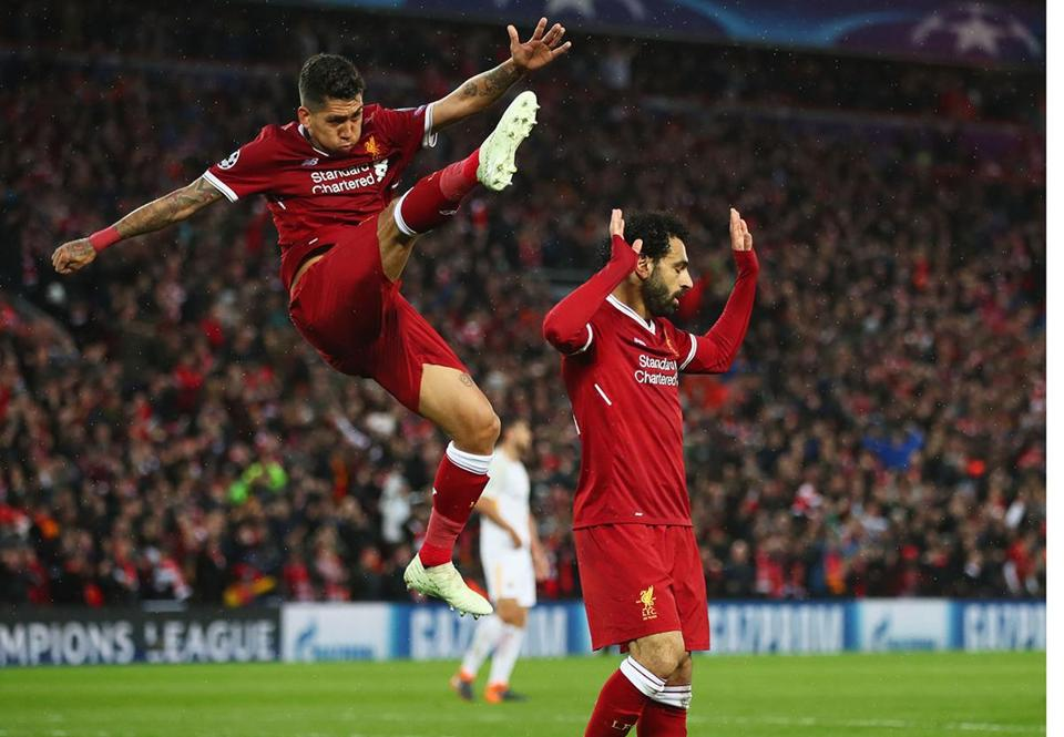 Liverpool Routs Roma In Champions League Semifinal Leg