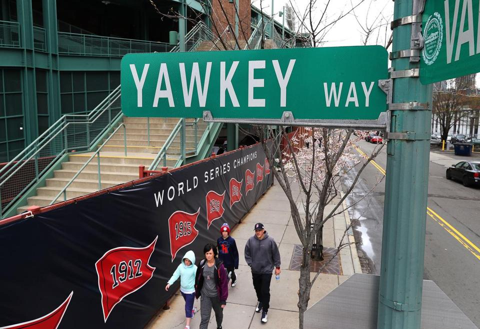 Boston Public Improvement Commission voted to change the name of Yawkey Way back to its original name, Jersey Street.