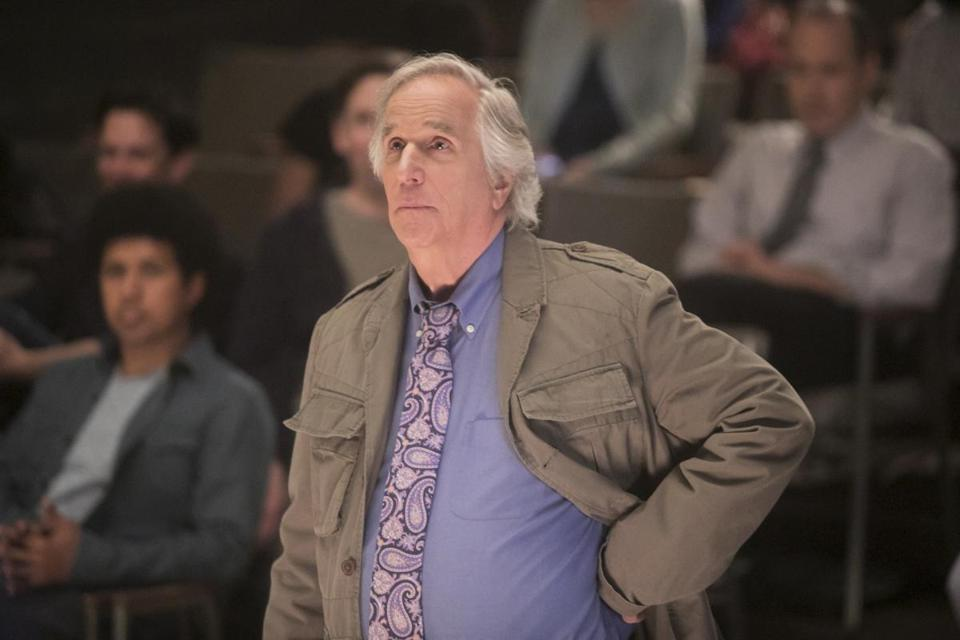 "Henry Winkler portrays an acting teacher on ""Barry."""