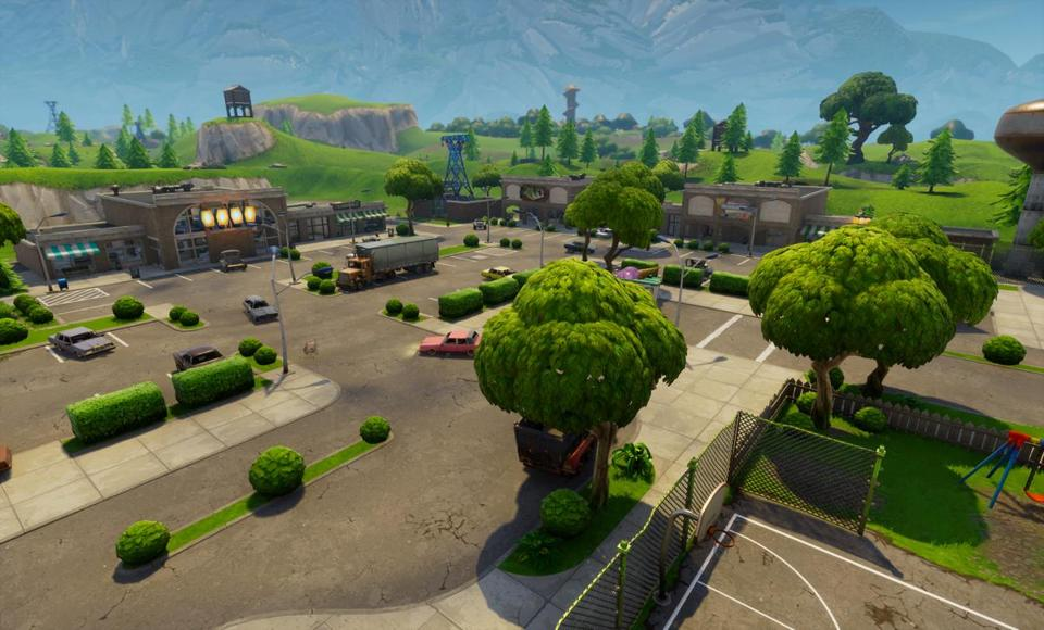 "The Battle Royale mode in ""Fortnite"" features up to 100 players vying to be the last one standing."
