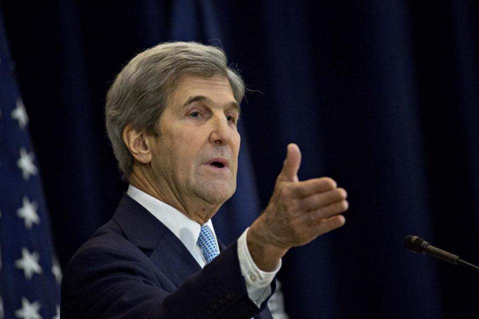 Former US secretary of state John Kerry.