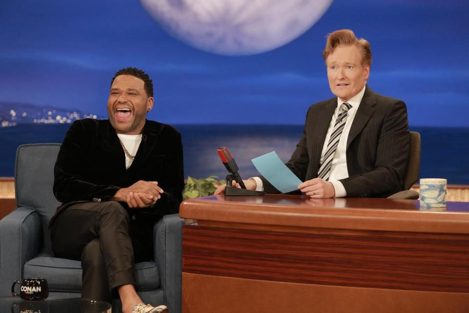 conan s hoping less is more the boston globe