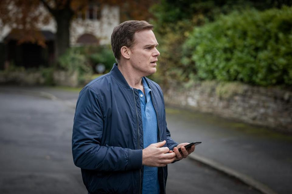 Michael C. Hall as a man seeking his missing child.