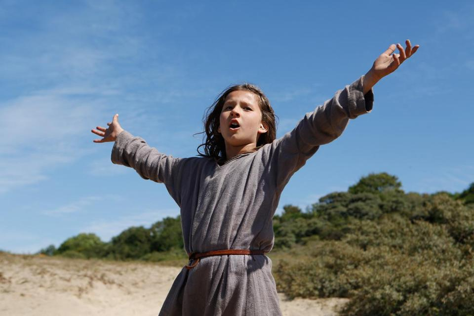 "Lise Leplat Prudhomme stars as 13-year-old Joan in ""Jeannette: The Childhood of Joan of Arc"