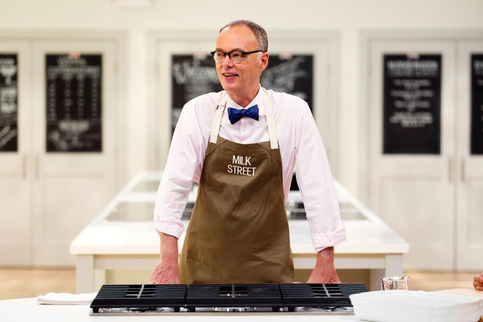 "Christopher Kimball The credit is just, ""courtesy of Christopher Kimball's Milk Street."""