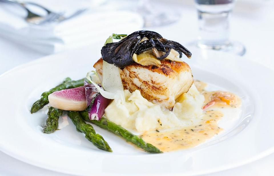 Pan-Roasted Icelandic Cod At Il Capriccio.