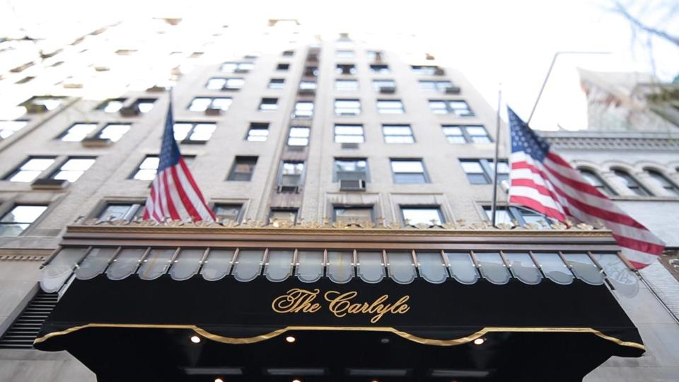 """Always at the Carlyle"" features interviews with celebrities such as George Clooney and Naomi Campell as well as hotel employees."