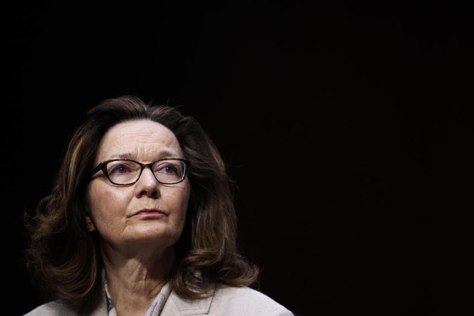 Gina Haspel, the Trump administration's nominee for CIA director, during her confirmation hearing before the Senate Intelligence Committee, on Capitol Hill in Washington, May 9, 2018. (Tom Brenner/The New York Times)
