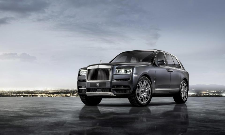 Rolls Royce Unveiled The Cullinan Thursday