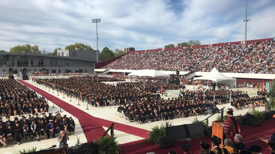Umass Amherst Graduation 2020.At Umass Amherst Commencement Jake Tapper Condemns The