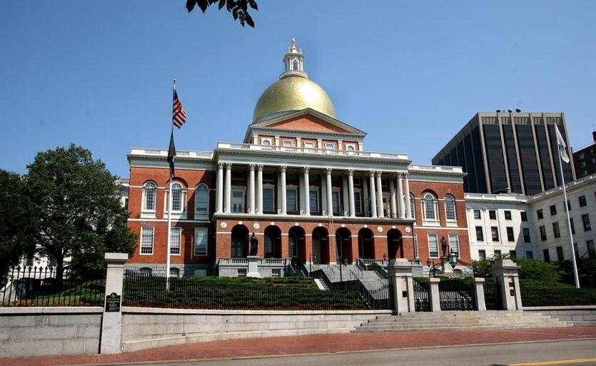 The State House in Boston.