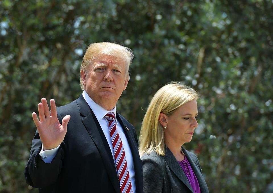 Президент США Трамп намерен уволить секретаря по национальной безопасности