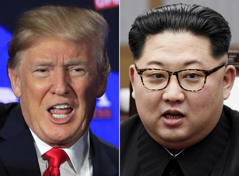 President Trump and North Korean leader Kim Jong Un are scheduled to meet in Singapore on June 12.