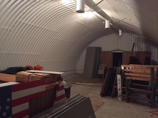 15bunker -- Nantucket officials are considering the possibility of turning this underground military bunker into a museum. (Gregg A. Tivnan)