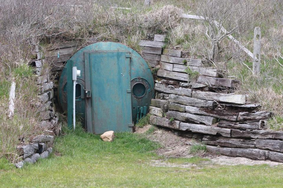 The bunker off Tom Nevers Road was to be used by President John F. Kennedy and family if there was a nuclear war.